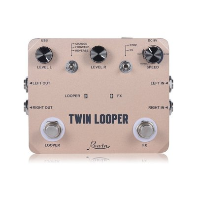 双踏乐句循环 TWIN LOOPER